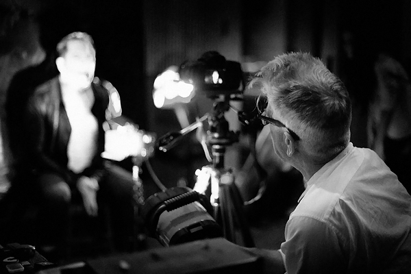 David Lynch Directing NIN Video