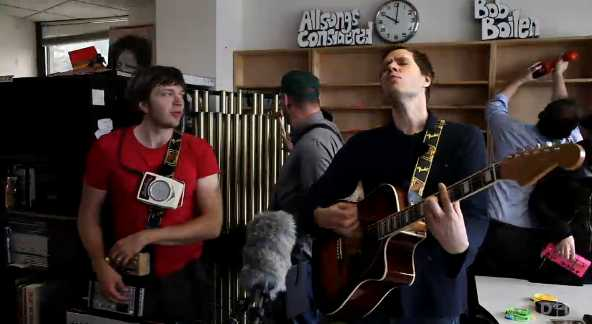 OK Go - via NPR screen cap
