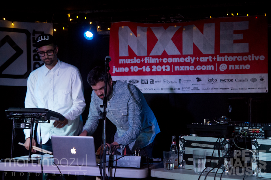 Sunclef + Peroff @ Sneaky Dee's - NXNE 2013 (Copyright: PeteHatesMusic / Martin Bazyl)