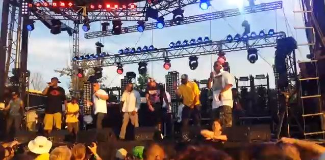 Wu-Tang at Bonnaroo via YouTube screen cap