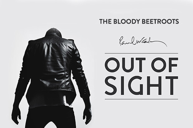The Bloody Beetroots and Paul McCartney - Out Of Sight Album Art