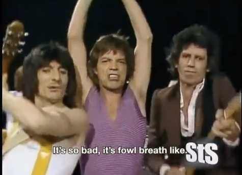 StS' Rolling Stones - YouTube screen cap