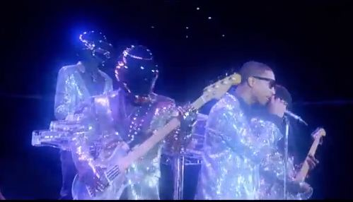 Daft Punk - Lose Yourself to Dance via YouTube screen cap