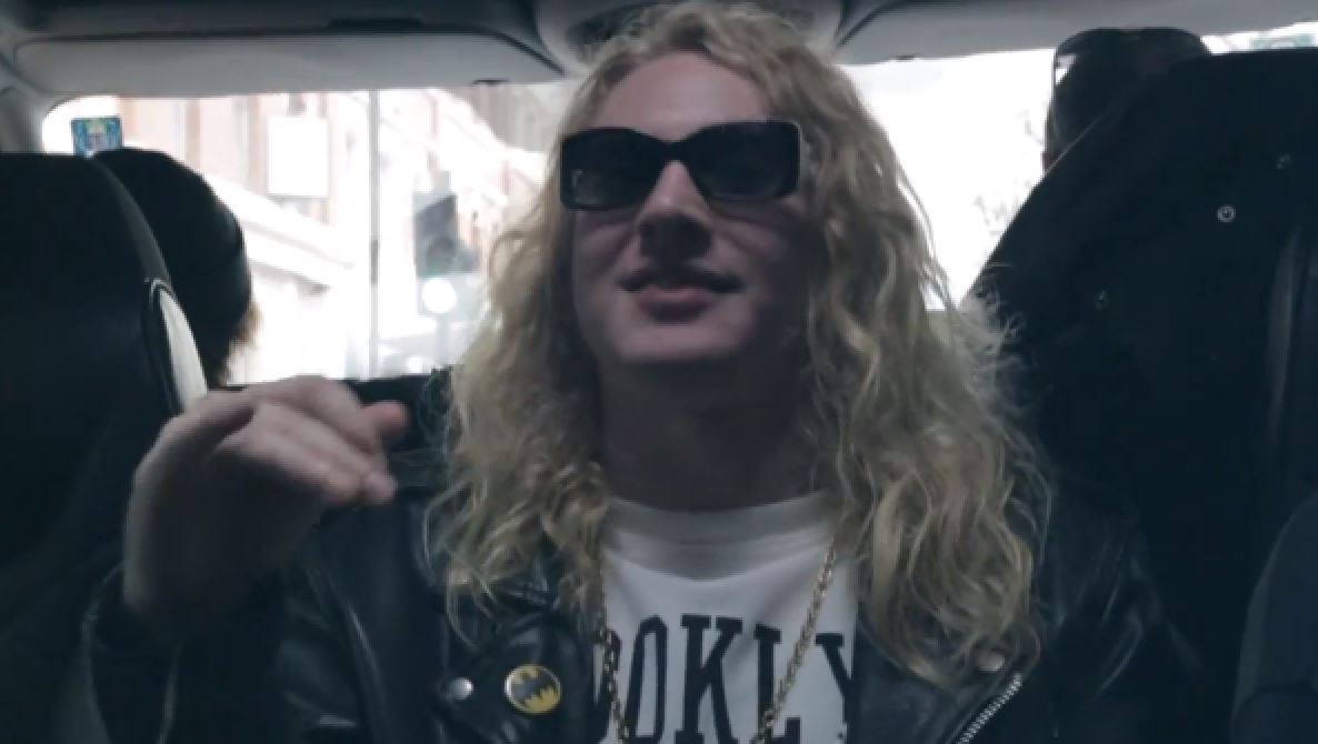 The Orwells- Let it Burn via YouTube screen cap
