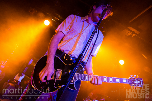 The Dirty Nil at Tattoo - Canadian Music Week 2014 (Copyright: PeteHatesMusic, Martin Bazyl Photography)