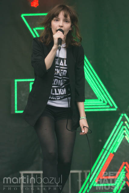 CHVRCHES at Field Trip (Copyright: PeteHatesMusic / Martin Bazyl Photography)