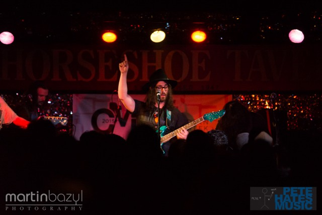 The Ghost of a Saber Tooth Tiger (GOASTT) at the Horseshoe Tavern (Copyright PeteHatesMusic and Martin Bazyl Photography)