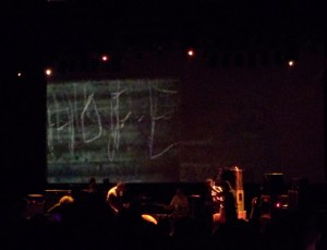 HOPE. Godspeed You! Black Emperor at Danforth Music Hall (Copyright: PeteHatesMusic)