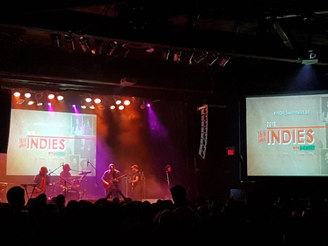 Wintersleep at The Indies, Canadian Music Week (Copyright: PeteHatesMusic)