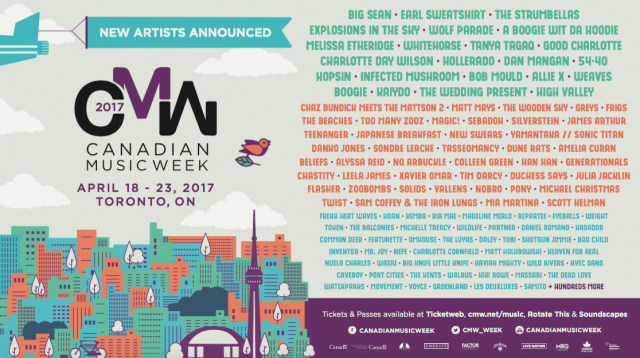 CMW 2017 Additional Announce